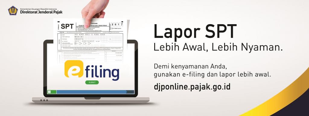 Cara melakukan e-filing pajak