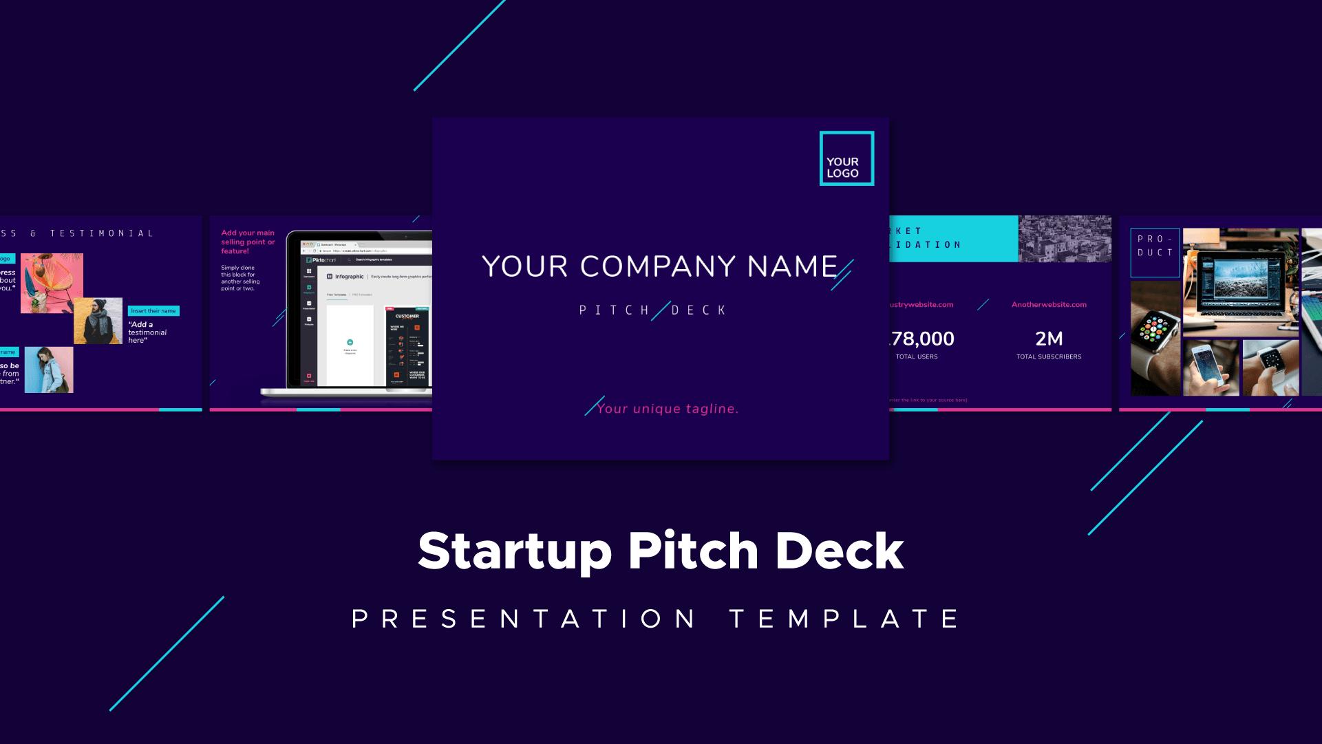 start up pitch deck