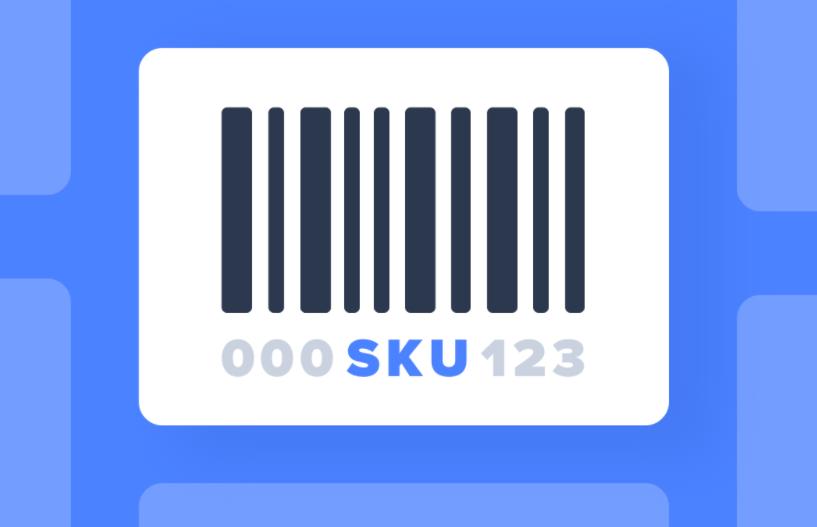 Пример оформления SKU
