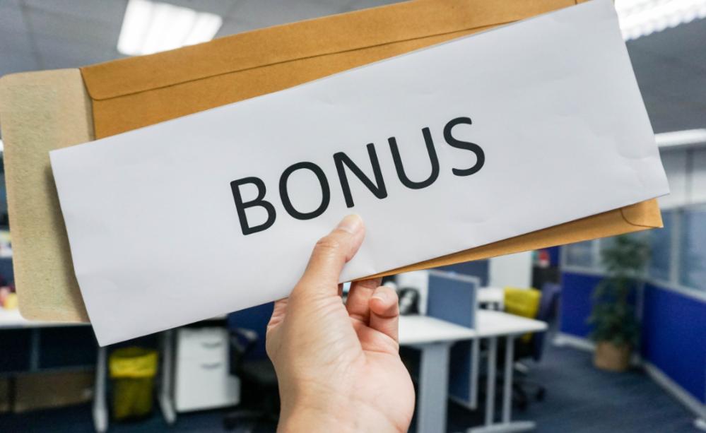 menghitung bonus tahunan
