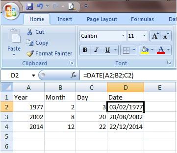 Kumpulan Rumus Excel Lengkap Dan Fungsinya RUMUS DATE