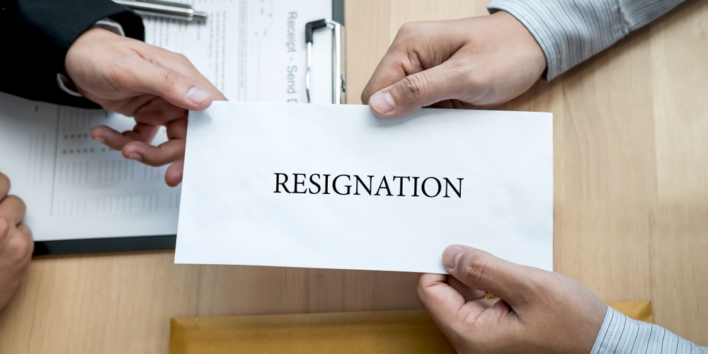 hak karyawan yang mengundurkan diri