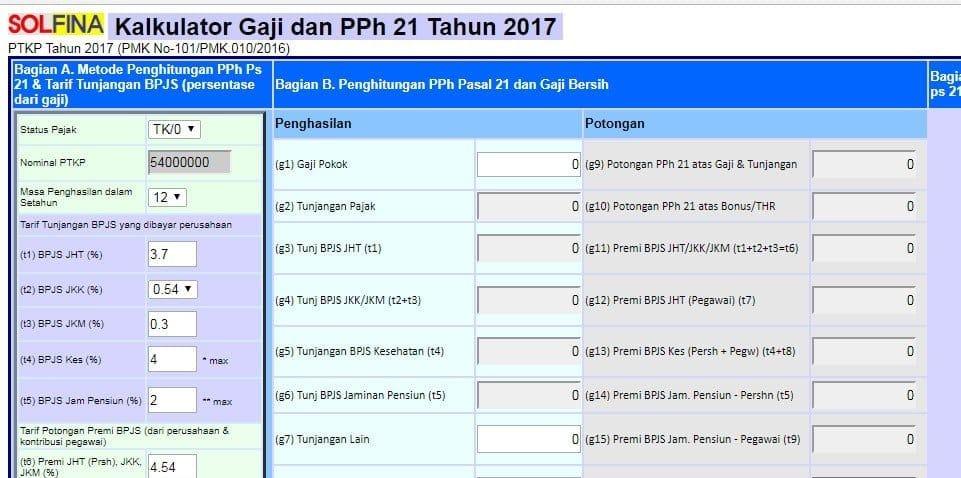 Daftar Aplikasi Penghitungan Pph 21 Mudah Dan Bebas Pusing